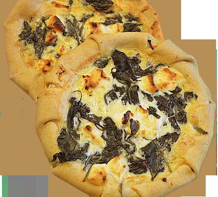 Spinazie met geitenkaas - Taartello Patisserie