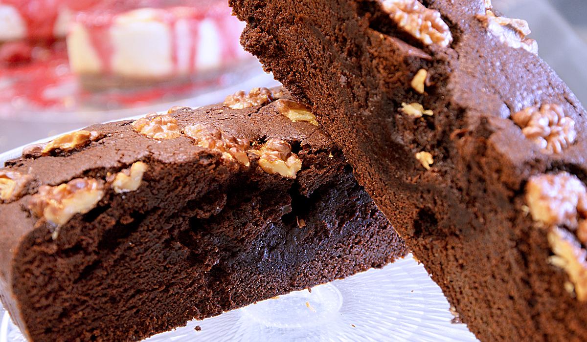 Brownie met of zonder noten